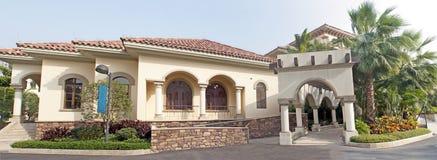 Villa Fotografie Stock