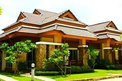 Villa Stock Foto's