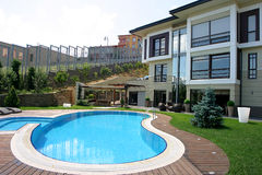 Villa Royalty-vrije Stock Foto