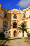 Villa. A picture of the facade of an old villa in Sicily, Italy Royalty Free Stock Image
