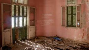 Villa abbandonata - Grecia Immagini Stock