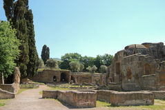 Villa Adriana Royalty Free Stock Photography