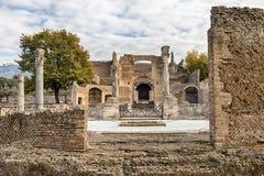 Villa Adriana Arkivbilder