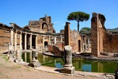 Villa Adriana dichtbij Rome, Italië Royalty-vrije Stock Foto