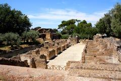 Villa Adriana near Rome, Italy Royalty Free Stock Image