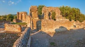 Villa Adriana near Rome, Italy Royalty Free Stock Images