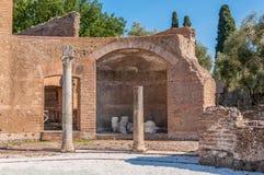 Villa Adriana near Rome, Italy Stock Photo