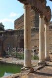 Villa Adriana près de Rome Photo libre de droits