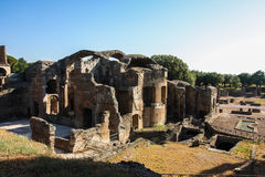 Villa Adriana Roman Ruins at Tivoli Italy Royalty Free Stock Photos