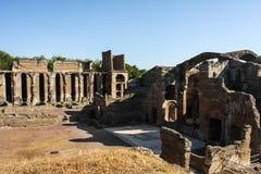 Villa Adriana Roman Ruins Royalty Free Stock Images