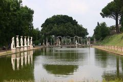 Villa Adriana - Rome Royalty Free Stock Photography