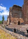 Villa Adriana- ruins of an imperial Adrian country house in Tivoli near Rome, Royalty Free Stock Photo