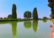 Villa Adriana  in Tivoli near Rome, from where the emperor Adrian ruled the Roman Empire Royalty Free Stock Photography