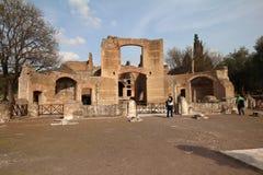 Villa Adriana Tivoli stock image