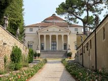 Villa Almerico Capra, la Rotonda. Palladian villas of the Vicenza, Italy Stock Photo