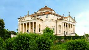 Villa Almerico-Capra located in Vicenza (Veneto) Italy. Villa Almerico-Capra, also known as Villa La Rotonda, located in Vicenza (Veneto) Italy, was designed by royalty free stock image