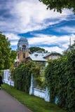 Villa Ammende in Parnu, Estland stock foto's