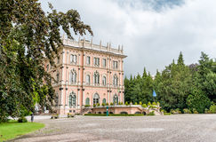 Villa Andrea Ponti, Varese, Italy. Villa Andrea Ponti nestled in a park of rare trees of Varese, Italy Stock Images