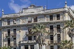 Villa Angst in Bordighera. Villa anxiety morbid ruins of a grand hotel in Bordighera Stock Photo