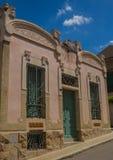 Villa Anna, modernism i enkla byggnader royaltyfri foto