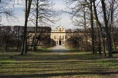 Villa Arconati nära Milan (Italien) Arkivbild