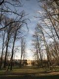 Villa Arconati nära Milan (Italien) Royaltyfria Bilder