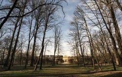 Villa Arconati nära Milan (Italien) Arkivbilder