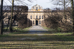 Villa Arconati nära Milan (Italien) Arkivfoto