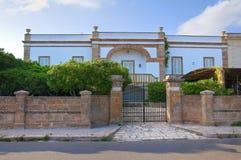 Villa Arditi Seracca. Santa Maria di Leuca. Puglia. Italy. Stock Images