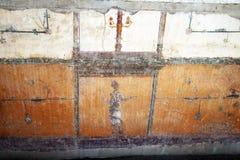 Villa arianna fresco Royalty Free Stock Photography