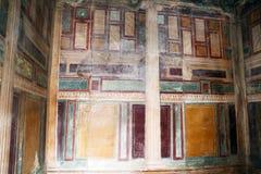 Villa arianna paintings Stock Photography