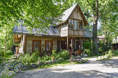 Villa Arwa in Zakopane Stock Photos