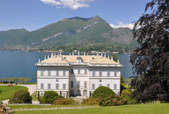 Villa At The Famous Italian Lake Como Stock Photos