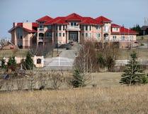 Villa auf dem Hügel 2 Stockfoto