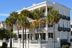 Villa auf der Batterie, Charleston Lizenzfreie Stockbilder