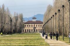 Villa Bagatti-Valsecchi chez Varedo (Italie) Photographie stock libre de droits