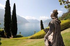Villa Balbianello. Park Balbianello - Lenno, Lake Como stock image