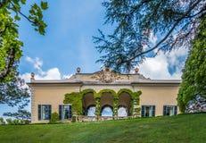 Villa Balbianello Stock Afbeeldingen