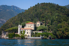 Villa Balbianello on Lake Como, Italy. The Villa Balbianello on Lake Como, Italy stock photography