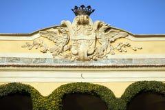 Villa Balbianello on Lake Como, Italy Stock Images