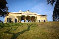 Villa Balbianello on Lake Como, Italy Royalty Free Stock Photo