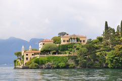Villa balbianello at  lake como Stock Photography