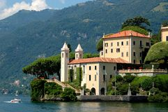Villa balbianello royalty free stock image