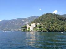 Villa Balbianello - sjö Como, Italien Royaltyfria Foton