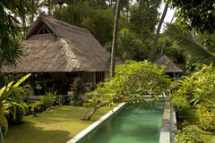 Villa in Bali Royalty Free Stock Photo
