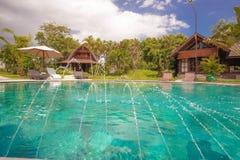 Villa in Bali Stock Foto's