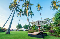 Villa Bali de cinq étoiles Image stock
