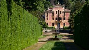 Villa Barbarigo Italy. Villa Barbarigo Valsanzibio, Padova, Italy Royalty Free Stock Photos