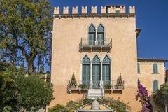 Villa in Bardolino Stock Images
