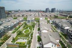 Villa. Beijing luxury villas residential area Stock Photography